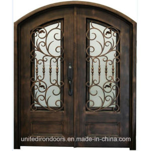 High Quality Front Entry Wrought Iron Door (UID-D069) pictures & photos