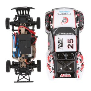 312999k- 2.4G 4CH RTR off-Road Remote Control RC Car High-Speed 30km-H Alloy Chassis Structure pictures & photos