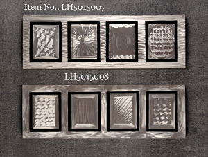 Modern Metal Wall Artwork in Silver pictures & photos