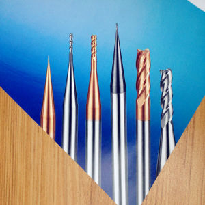 Tungsten Solid Carbide CNC Cutting Tools 4 Flute Flat End Mill pictures & photos