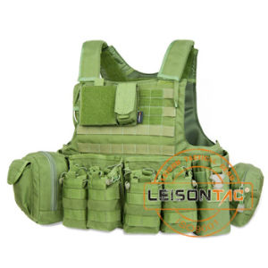 Military Bulletproof Vest with Quick Release System Nij Bullet Proof pictures & photos