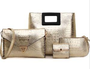 Fasihon Bags 4PCS Set Wholesale Leather Hand Bag Designer Handbag (XM0188) pictures & photos