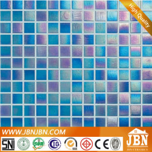 Symphony Blue Color Bathroom Wall Glass Mosaic (H420046) pictures & photos