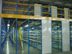 Structural Steel Mezzanine Warehouse Storage Rack pictures & photos