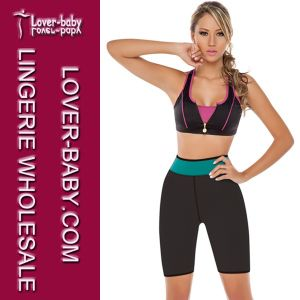 Lady Fitness Wear Sport Sweat Short Pant (L42661-1) pictures & photos