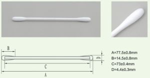 Paper Round Tip Cotton Swab for Electrical Components (SF-001) pictures & photos