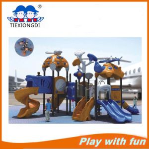 Commercial Kids Slide Equipment Plastic Outdoor Playground pictures & photos
