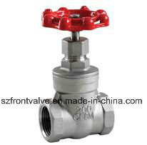 Investment Casting Stainless Steel Screwed Gate Valves pictures & photos