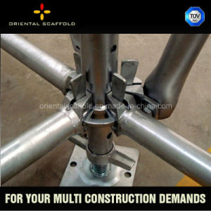 Hot DIP Galvanized Ringlock Layher All Round Scaffolding Vertical Standard pictures & photos