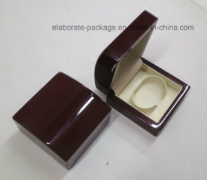 Mahogany Glossy Wood Bangle Watch Box pictures & photos