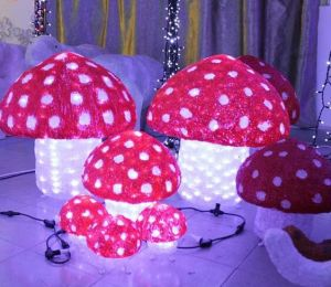 Outdoor Decoration Mushroom Christmas Lights for Outdoor Garden Decoration pictures & photos
