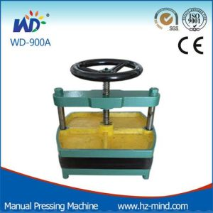 Manual Book Pressing Flat Machine (WD-900A) pictures & photos