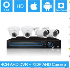 4CH Ahd DVR Kits, Waterproof Color CMOS 720p, Secuirty Ahd DVR Kit pictures & photos