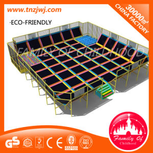 Cheap Baby Trampoline Park for Sports with Soft Ball Pool pictures & photos