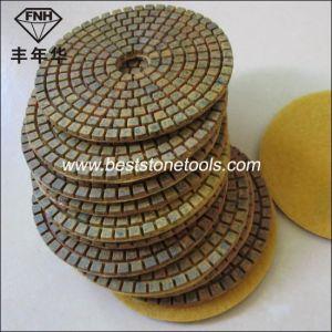 """Wd-9 Hybrid Metal Pad Hook & Loop Diamond Pad (diameter 3-6"""") pictures & photos"""