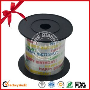 Printed Polyester Curly Ribbon for Bithday Party pictures & photos