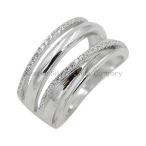 Sterling Silver Jewelry High Polished Finger Ring Women′ Gift (KR3054) pictures & photos