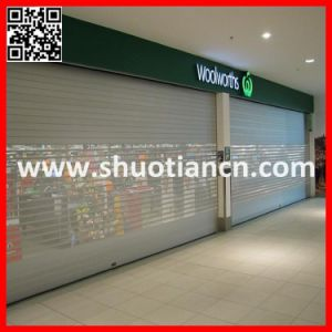 Security Commercial Roll up Shop Front Shutter (ST-002) pictures & photos