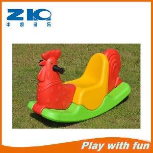 Popular Item Indoor Cheap Kids Plastic Rocking Horse pictures & photos