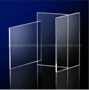First Grade Clear Acrylic Panel Decorative Material pictures & photos