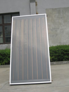 Black Chrome Coating Flat Solar Panel pictures & photos