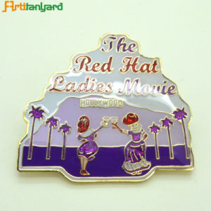 Custom Pin Badge with Soft Enamel pictures & photos
