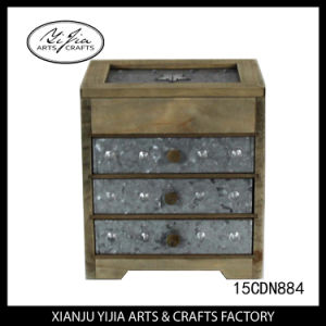 Burning Process of Wooden Jewelry Box for Home Decoration pictures & photos