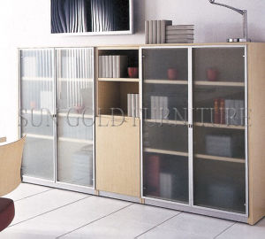 Modern Elegant Glass Door Frosted Glass Storage Cabinets (SZ-FC080) pictures & photos