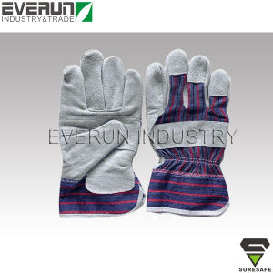 Industrial Safety Gloves Hand Gloves Leather Gloves pictures & photos