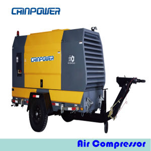 125kw Portable Air Compressor with Diesel Engine Deutz Bf4m1013FC