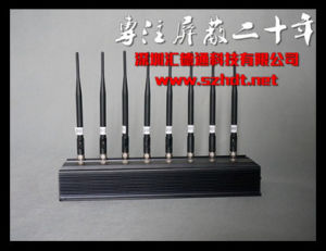 Free Shipping 8 Antennas Desktop GSM CDMA 4G Signal Jammer pictures & photos