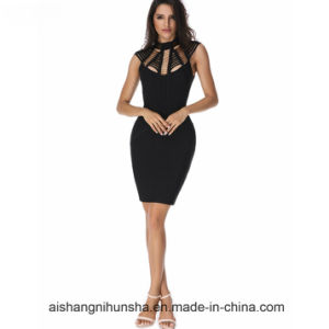 Evening Party Dress Women Sexy Lady Bandage Dresses pictures & photos