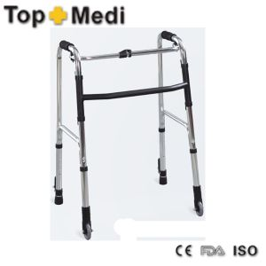 Factory Sale Lowest Price Walking Aid Rollator with Aluminum Frame pictures & photos