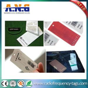 Custom Printed Passive RFID Clothing Tags / Washable RFID Tags for Clothing pictures & photos