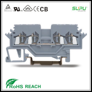 4 Conductor Feed Through Terminal Blocks Connector of Front Entry Side Marker pictures & photos