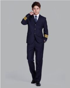 Handsome Airlines Uniform for Captains (UFM130130) pictures & photos