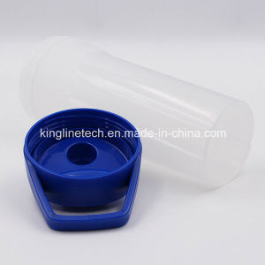 700ml New Design Plastic Protein Shaker Bottle with Blender Mixer Ball (KL-7038) pictures & photos