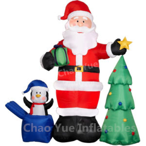 Hot Sale Giant Inflatable Santa Claus for Christmas Decoration (CYAD-550) pictures & photos
