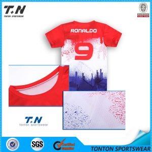 2015 New Custom Blank Soccer Jersey/Soccer Uniform pictures & photos