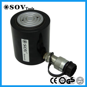 100ton Sov Single Acting Thin Hydraulic Jack (SOV-RCS) pictures & photos