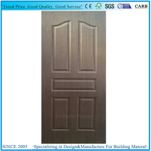Best Selling Moulded Door Panel Solid Wooden Interior Door Skins pictures & photos