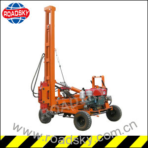 Installing Highway Guardrail Hydraulic Pile Driving Machine for Sale pictures & photos