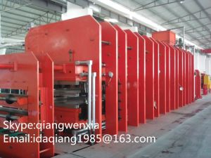 CE Standard Frame Type Conveyor Belt Vulcanizing Press Xlb 800X10000 pictures & photos