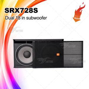 "Srx728s DJ Sound Dual 18"" Speaker Subwoofer pictures & photos"