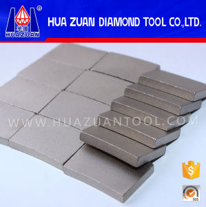 Fan Shape Diamond Drill Bit Ring Cutting Segment pictures & photos