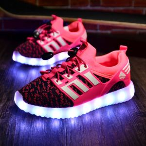 Wholesale All Shoes in Dubai Rechargeable Shoes LED Lights pictures & photos