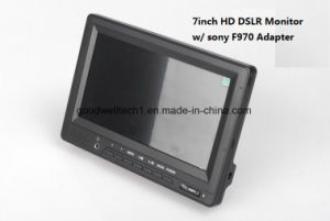 "HDMI Input and Output 7""on Camera Field LCD HD Monitor pictures & photos"