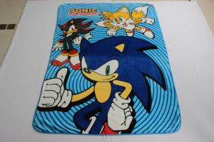 Flannel/Coral Fleece Blanket - (SONIC) pictures & photos
