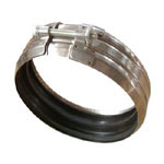 Type B Pipe Coupling/Hose Clamp with Rubber Inside pictures & photos