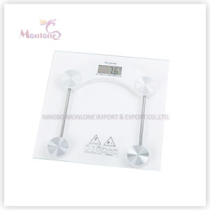 2.5kg-150kg Glass Square Electronic Weight Scale (30*30) pictures & photos